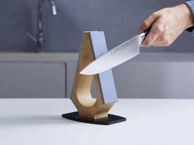 Messerschärfer MK2 Holz Anwendung